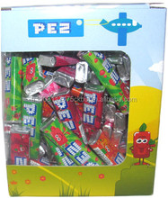 Pez 100 pieces Candy with fruit taste