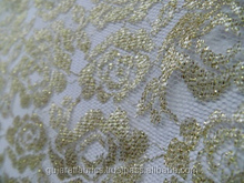 Raschel Lace Fabric for Wedding / African Raschel Mesh Fabric/ Embroidered Raschel Fabric for Curtain