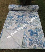 Indian Kantha Throw And Kantha Blanket