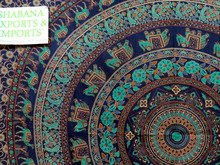Queen size Indian mandala tie dye cotton tapestry boho hippie bedding tapestries wall hangings in attractive colors
