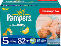 PAMPER -DRY BABY DIAPERS SIZE 3