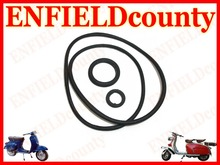 BRAND NEW VESPA ENGINE CASE O RING KIT OF 3 RINGS PX PE T5 RALLY LML
