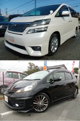 Good-maintenance used Japanese cars for second hand car dealers