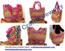 Exclusive Indian handmade bags-indian Ethnic bag and purse-Beautiful stylish banjara vintage indian embroider bag Wholesale