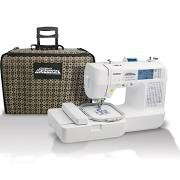 free shipping Brother LB6800PRW Project Runway Sew Emb Machine, 12 Extras