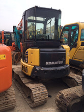 Used Mini Excavator Komatsu Excavator Price PC55MR-2 For Sale