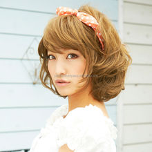 High quality and Japanese brand latest in mens fashion Wig with Heat-resistant
