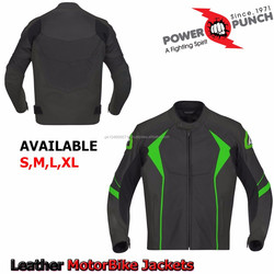 Leather Motorcycle,Motorbike Racing Riding Leather Jacket