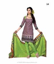 Casual Wear Salwar Suit \ Cotton Dress Material Exporter