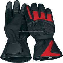 Pure Leather Gloves for Professional Bikers / Leather Motorbike Gloves in Pakistan / Cheap Leather Motorbike