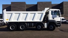 MAN TGS 41.480 8x4 BB-WW NEW 480 hp with tipper, 5 pieces