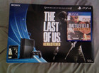 NEW Sony PlayStation 4 PS4 - 500 GB Console Jet Black The Last of Us PACOTE !!!!!