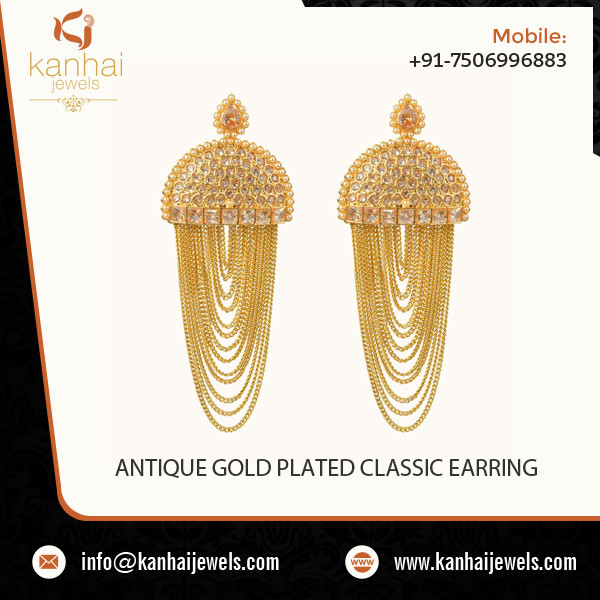 ANTIQUE GOLD PLATED CLASSIC EARRING.jpg