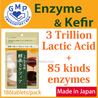 Popular and Effective slim fast diet pill ( Probiotics Yeast Enzyme ) with multiple functions made in Japan