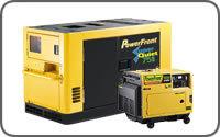 Generator set POWERFRONT
