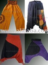 Pantalones amistosos orgánicos del Harem de Eco
