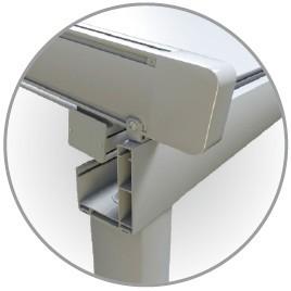 Aluminium veranda pergola met automatische dak bogen pergola 39 s pergola 39 s en brug product id - Aluminium pergola met schuifdeksel ...