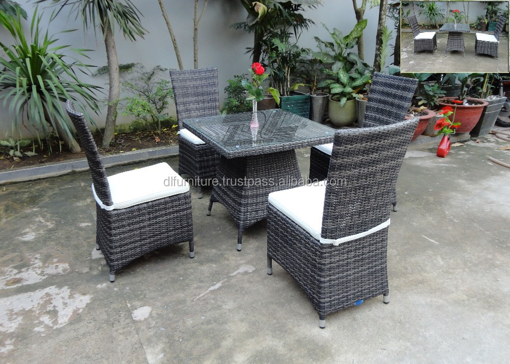 Vietnam Factory All Weather Outdoor Design posite Waterproof Poly Rattan P