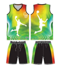 Sublimation basketball uniform sets