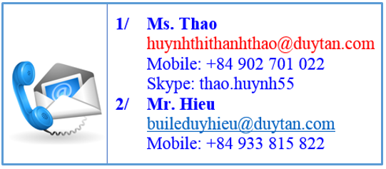 Duy Tan contact