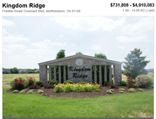 Kingdom Ridge - easy access to highways, school nearby, ideal for commercial development, real estate for sale in TN, US