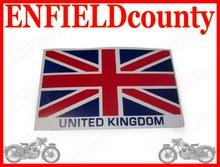 NEW ROYAL ENFIELD 2 UNITED KINGDOM FLAG STICKER PACK
