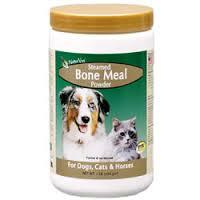 Harina de huesos para perros