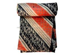 RTHKGC-361 Kantha assorted Quilted Bed sheet for Children Manufacturer Indian Jaipur