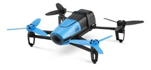 Parrot Bebop Drone Blue Remote Control by Smartphone or Skycontroller