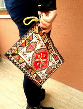 KiLiM RUG CARPET DESIGN TURKISH CARRY BAG HANDBAG FOR TABLET PC SMALL NOTEBOOK