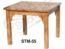 reclaimed wood solid slab dining tables