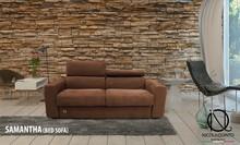 Italian Bed Armchair, Genuine Leather, SMT_POL