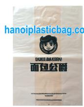 HDPE die cut shopping bag