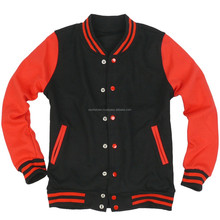 Varsity Jacket made by sports town, Made of wool body with wool & Leather sleeve j8525