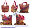 Gujarati Kutchhi hand embroidered handbags / clutch / Wholesale jhola bag-Elephant hand embroidered vintage bags 2015