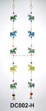 Indian Ethnic Decorative Elephant and horse Art Door Hanging Vintage Toran-Wholesale handicraft products online-wall hanging