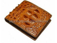 Crocodile leather wallet for men SMCRW-005