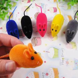 Funny Pet Cat Chew Toy False Mouse Rat Kitten Dog Puppy Playing Squeaky #51585