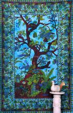Tree of life mandala hippie tapestry wall hanging indian Tapestry mandala