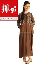 New Frock Style Latest Design Kurti For Ladies