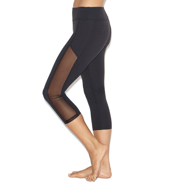 Mesh Yoga Leggings Capris