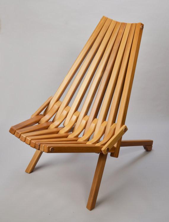 Gorgeous Mid Century Danish Modern Teak Wood Folding Chair Buy Folding Chai