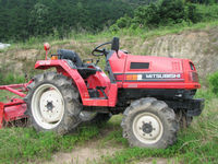 Used farm tractor Mitsubishi tractor MT18 from Japan