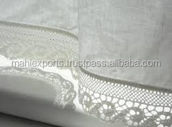 100% cotton jacquard lace bath towel