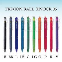 pilot frixion ball knock erasable ball pen japanese coloring pens