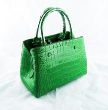 Genuine Siamensis Crocodile Leather Handbag for Women