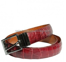Crocodile leather belt for women SWCRB-002