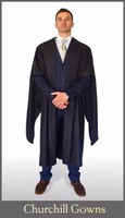 Masters Gown (Academic Graduations)