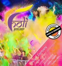 Holi Gulal Powder Made in Germany - Certified Holi colors for sports events and outdoor parties
