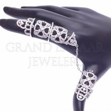 Gioielli turco argento a doppio anello 925 all'ingrosso da Istanbul Turk